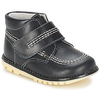 Boty Chlapecké Kotníkové boty Citrouille et Compagnie MELIN Tmavě modrá