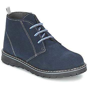 Boty Chlapecké Kotníkové boty Citrouille et Compagnie LEQUIN Modrá