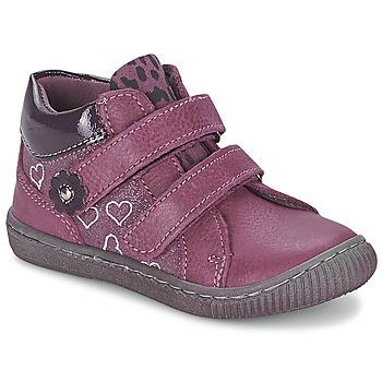 Boty Dívčí Kotníkové boty Citrouille et Compagnie GALIS Růžová