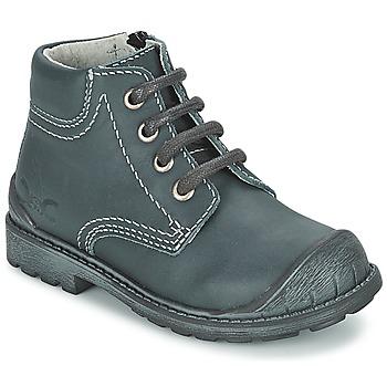 Boty Chlapecké Kotníkové boty Citrouille et Compagnie BRINDIL Tmavě modrá