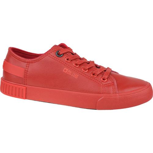 Boty Ženy Nízké tenisky Big Star Shoes Big Top Červená