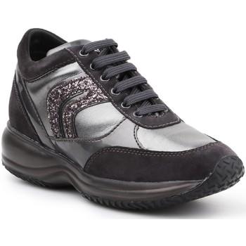 Boty Ženy Nízké tenisky Geox D Happy A D6462A-022AJ-C9A1G black, silver