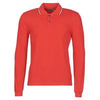 Textil Muži Polo s dlouhými rukávy Casual Attitude NILE Červená