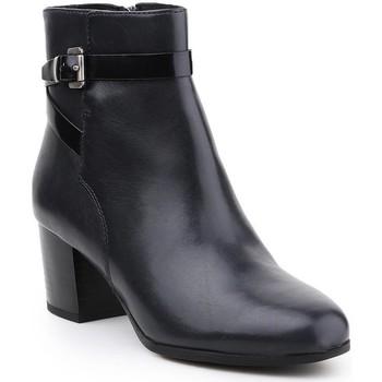 Boty Ženy Kotníkové boty Geox D Petalus D642ZC-043BC-C4002 black