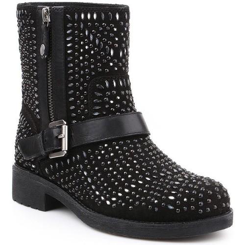 Boty Ženy Kotníkové boty Geox D New Virna K D6451K-02243-C9999 black