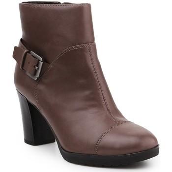 Boty Ženy Kotníkové boty Geox D Raphal Mid A D643WA-00043-C6029 brown