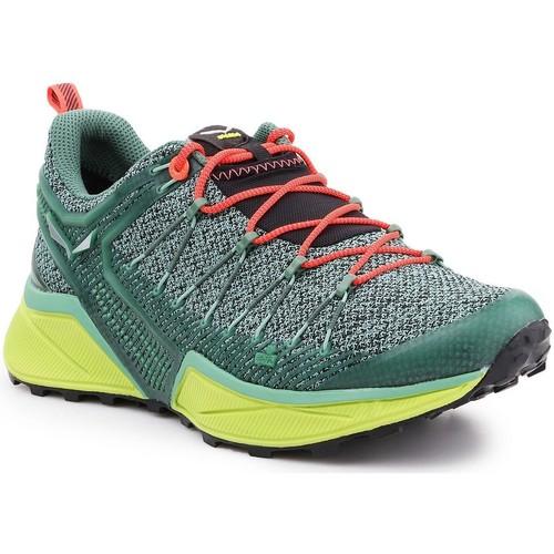 Boty Ženy Běžecké / Krosové boty Salewa Trekking shoes  Ws Dropline 61369-5585 green