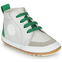 Boty Děti Kotníkové boty Robeez MIGO Béžová / Zelená
