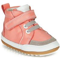 Boty Dívčí Kotníkové boty Robeez MIGOLO Růžová