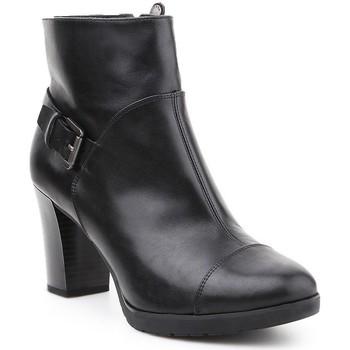 Boty Ženy Kotníkové boty Geox D Raphal Mid A D643WA-00043-C9999 black