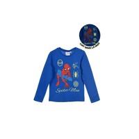 Textil Chlapecké Trička s dlouhými rukávy TEAM HEROES  SPIDERMAN Modrá