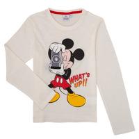 Textil Chlapecké Trička s dlouhými rukávy TEAM HEROES MICKEY Bílá