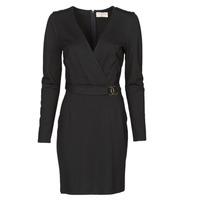 Textil Ženy Krátké šaty Moony Mood NAMITIE Černá