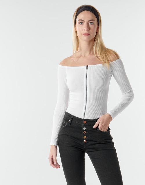 Textil Ženy Halenky / Blůzy Moony Mood NOAM Bílá