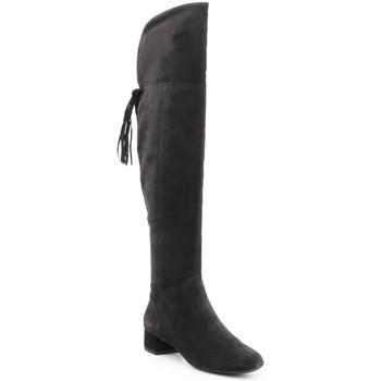 Boty Ženy Vysoké kozačky nad kolena Geox D N.Carey B D644AB-00022-C9999 black