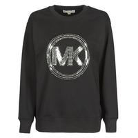Textil Ženy Mikiny MICHAEL Michael Kors MK CRCL CLSC SWTSHRT Černá