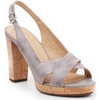 Boty Ženy Sandály Geox D Mauvelle C D724LC-000LC-C1010 grey