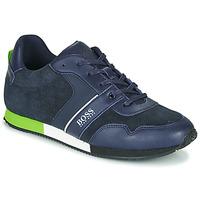 Boty Chlapecké Nízké tenisky BOSS J29225 Modrá
