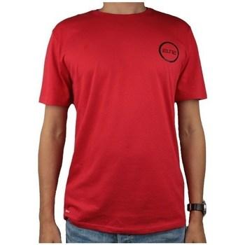 Textil Muži Trička s krátkým rukávem Nike Dry Elite Bball Tee Červené
