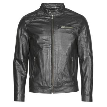 Textil Muži Kožené bundy / imitace kůže Selected SLHC01 Černá