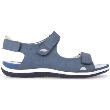 Boty Ženy Sandály Geox D Sand Vega A Modré