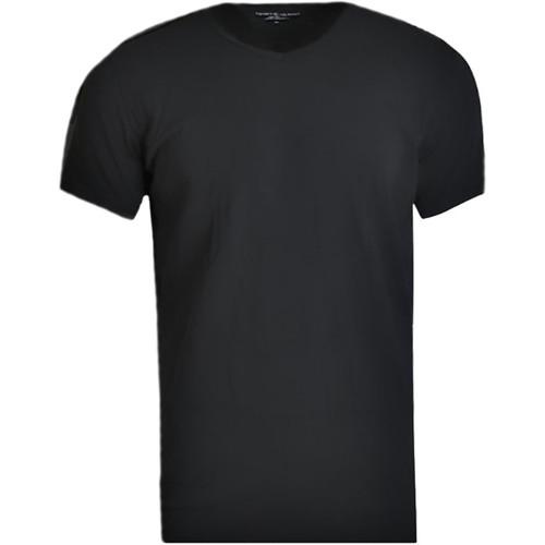 Textil Muži Trička s krátkým rukávem Tommy Hilfiger V-Neck 3 Pack Tee 2S87903767-990