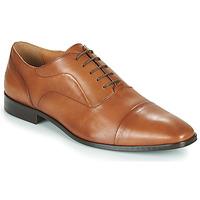 Boty Muži Šněrovací společenská obuv Carlington NIMIO Velbloudí hnědá