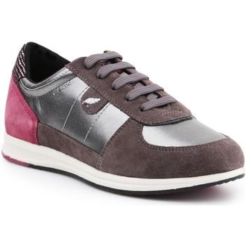 Boty Ženy Nízké tenisky Geox D Avery B D52H5B-0AJ22-C1G9F brown, burgundy