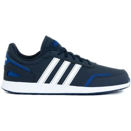 Boty Děti Nízké tenisky adidas Originals VS Switch 3 K Bílé, Modré, Tmavomodré