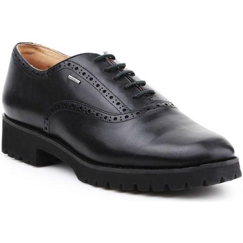 Boty Ženy Šněrovací společenská obuv Geox D Ashleen Abx Černé