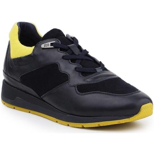 Boty Muži Nízké tenisky Geox D Shahira Černé, Žluté