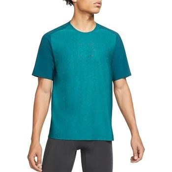 Textil Muži Trička s krátkým rukávem Nike Tech Pack Tyrkysové