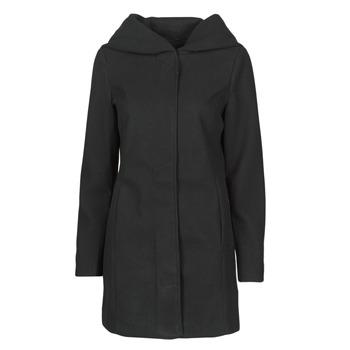 Textil Ženy Kabáty Vero Moda VMDAFNEDORA Černá
