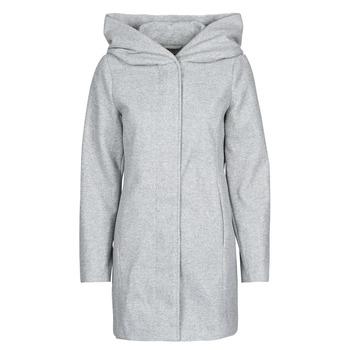 Textil Ženy Kabáty Vero Moda VMDAFNEDORA Šedá