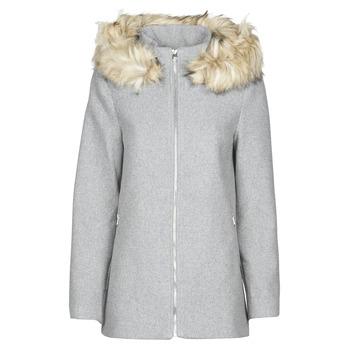 Textil Ženy Kabáty Vero Moda VMCOLLARYORK Šedá