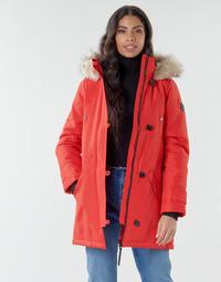 Textil Ženy Parky Vero Moda VMEXPEDITION Červená