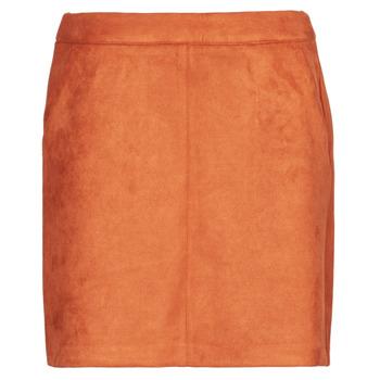 Textil Ženy Sukně Vero Moda VMDONNADINA Oranžová
