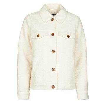 Textil Ženy Saka / Blejzry Vero Moda VMCOZY Krémově bílá