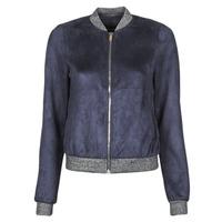 Textil Ženy Kožené bundy / imitace kůže Vero Moda VMSUMMERELISA Tmavě modrá
