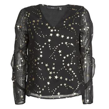 Textil Ženy Halenky / Blůzy Vero Moda VMFEANA Černá