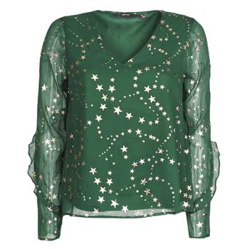 Textil Ženy Halenky / Blůzy Vero Moda VMFEANA Zelená