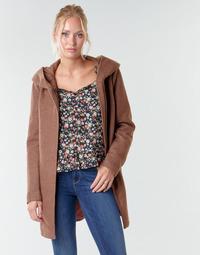 Textil Ženy Kabáty Only ONLSEDONA LIGHT Bordó