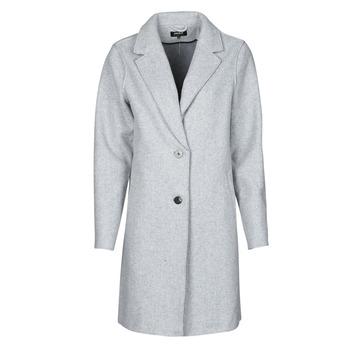 Textil Ženy Kabáty Only ONLCARRIE BONDED Šedá