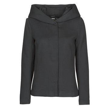 Textil Ženy Kabáty Only ONLNEWSEDONA Černá
