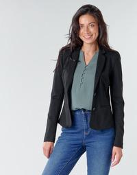 Textil Ženy Saka / Blejzry Only ONLPOPTRASH BLAZER Černá