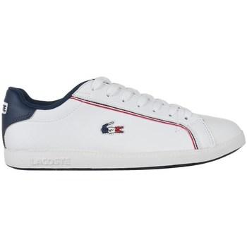 Boty Muži Nízké tenisky Lacoste Graduate 119 3 Sma Bílé,Tmavomodré