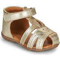 Boty Dívčí Sandály GBB FADIA Zlatá