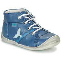 Boty Chlapecké Kotníkové tenisky GBB ABRICO Tmavě modrá