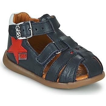 Boty Chlapecké Sandály GBB GARDOU Tmavě modrá