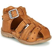 Boty Chlapecké Sandály GBB ARIGO Hnědá